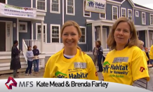MFS Investment team chips in at local Habitat for Humanity site in Boston