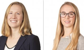 Olivia Watson and Jess Willliams Bolster Columbia Threadneedle's RI team