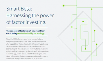 Smart Beta: 3 Things You Should Know About Factor Investing