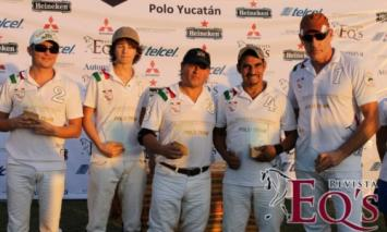 Merida Real Estate Polo Team Takes First Place Trophy in Sixth Yucatan Polo Open