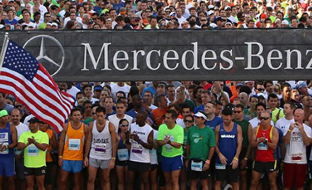 Mercedes benz corporate run miami 2014 en posici n de for Mercedes benz corporate run 2018