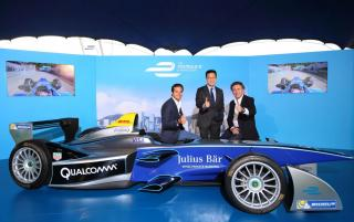 Julius Baer Engages in a Long-Term Partnership with FIA Formula E Championship until 2019