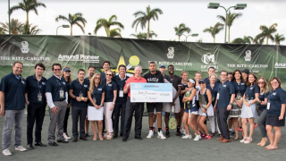 Serena Williams Headlines Amundi Pioneer's Annual All Star Tennis Charity Event
