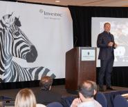 François Pienaar, the South African Rugby Legend and World Cup Champion, talks about leadership at Investec's Inspirational Event in Miami