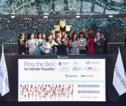 """Ring the Bell for Gender Equality"", la iniciativa de ONU mujeres y la World Federation of Exchanges"
