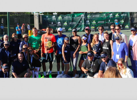 Pioneer Investments Sponsored the All-Star Tennis Charity Event in Miami