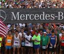 Mercedes-Benz Corporate Run Miami 2014, en posición de salida